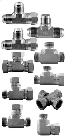 Hydraulic tee Piece Adaptors