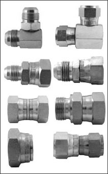 Hydraulic Female Swivel Adaptors, Male to Female Adaptors, Elbow Adaptors