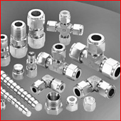 Twin ferrule Compression Couplings In Stainless steel