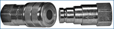 Flat Face Quick Release Coupling PLT Range ISO 16028