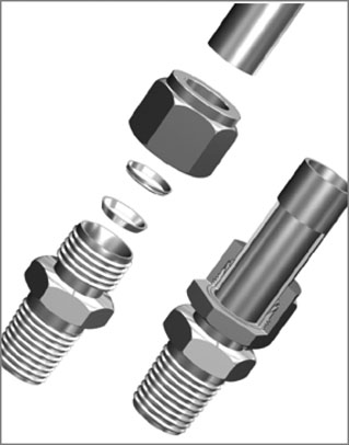 Design and Manufacture of Twin Ferrule Connectors