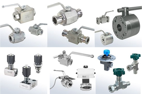 A comprehensive range of manually operated valves for regulating, throttling and shutting off fluid media in industrial and mobile hydraulics